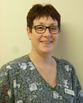 Caroline Knowles, support team at Rees Vets